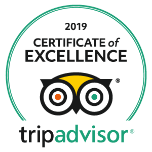 Trip Advisor: Certificate of Excellence